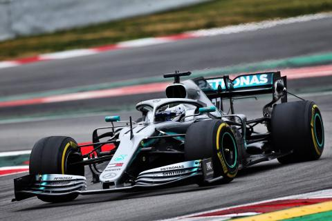 Barcelona F1 Test 1 Times - Wednesday 1PM