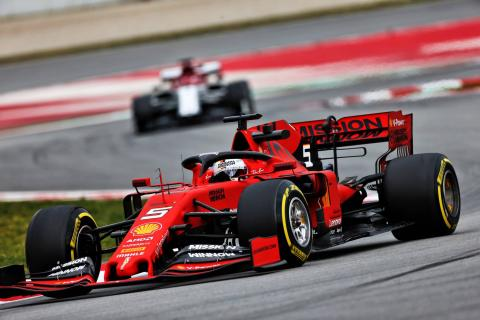 Barcelona F1 Test 1 Times - Wednesday 5PM