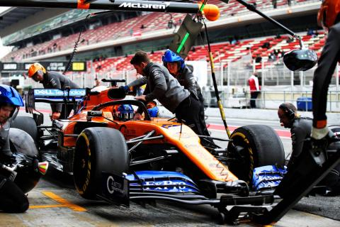 Barcelona F1 Test 2 Times - Wednesday 1pm