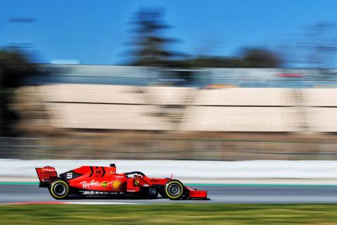 Barcelona F1 Test 2 Times - Friday 1pm