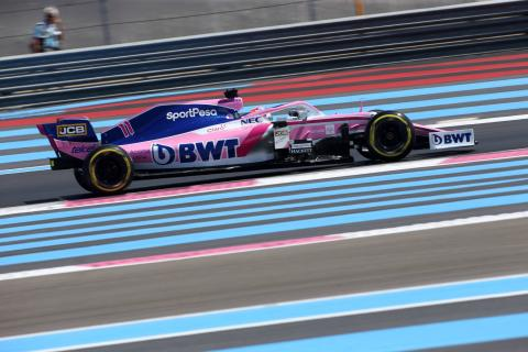 F1 French Grand Prix - FP1 Results