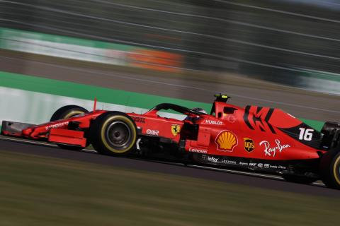 """Leclerc punished for driving Ferrari F1 car in """"unsafe condition"""""""