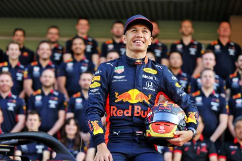 Albon no longer felt like an F1 rookie after Red Bull switch