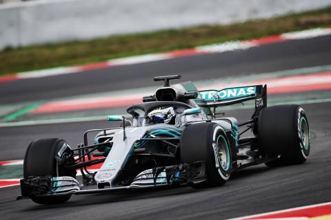 Barcelona F1 test times - Tuesday 1pm