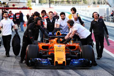 F1 Testing Analysis: The Donkey and his Driver