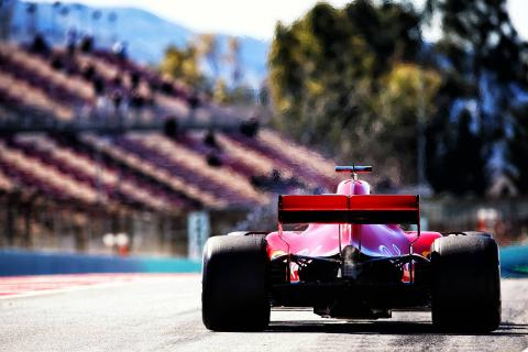 Barcelona F1 Test 2 Times - Tuesday 5pm