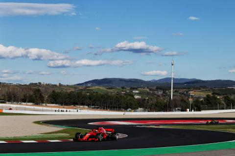 Barcelona F1 Test 2 Times - Thursday 4pm