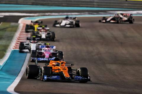 Final F1 World Championship points standings after the Abu Dhabi GP