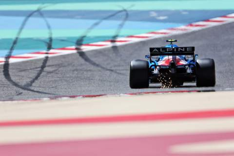 2021 Bahrain F1 Test Day 3 - Sunday lap times at 1pm