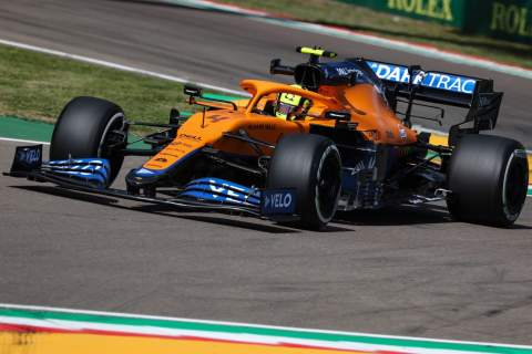 """Norris gutted he """"effed it all up"""" in Imola F1 qualifying"""