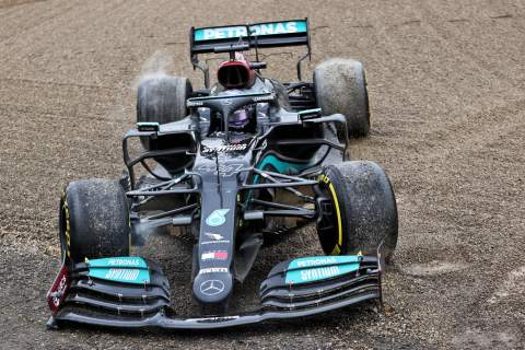 Hamilton 'refused to think the race was over' after rare F1 mistake