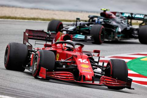 """Leclerc: P4 in Spain shows Ferrari's F1 development direction """"is the right one"""""""