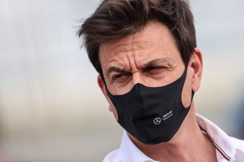 """Wolff reveals Mercedes F1 driver delay comments were a """"wind up"""""""