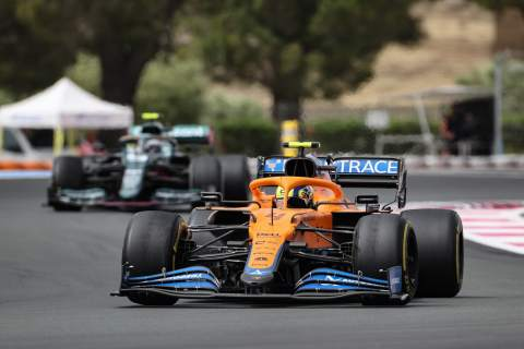 """Norris: McLaren """"overachieved"""" with P5 & P6 in F1 French GP"""
