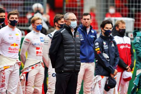 Stefano Domenicali (ITA) Formula One President and CEO on the grid.