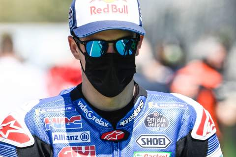 'He's (Marc) a bastard, beat me in the first race!' jokes Alex Marquez