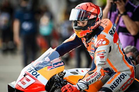 Marc Marquez: Heavier weights expose 'big difference' between left and right arm