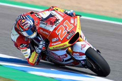 Fabio Di Giannantonio, Moto2, Spanish MotoGP, 30 April 2021