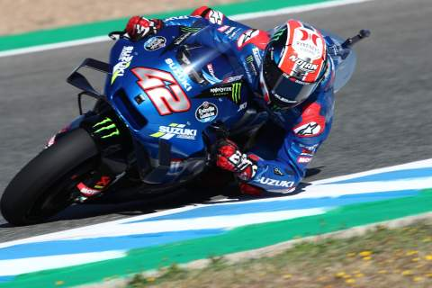 Alex Rins, Spanish MotoGP, 1 May 2021
