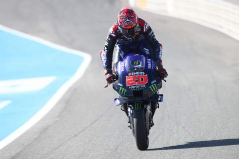 Fabio Quartararo Spanish MotoGP, 1 May2021