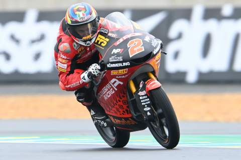 Gabriel Rodrigo, Moto3, French MotoGP, 14 May 2021