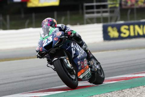 'Difficult' Catalunya test for Bastianini, suffers with 'shoulder pain'