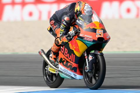 Masia focused on 'greater peace of mind' for remainder of Moto3 season