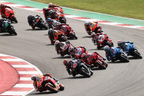 Marc Marquez, Grand Prix of the Americas race, 3 October 2021