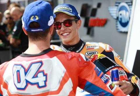 Marquez: I've learned many things from Dovi
