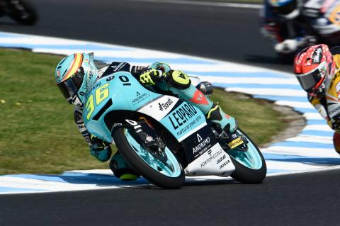 Moto3 Australia: Mir crowned champion in rain shortened race