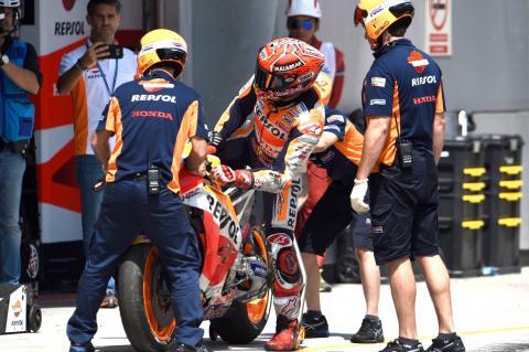 Marquez: 'It was a big save' - VIDEO