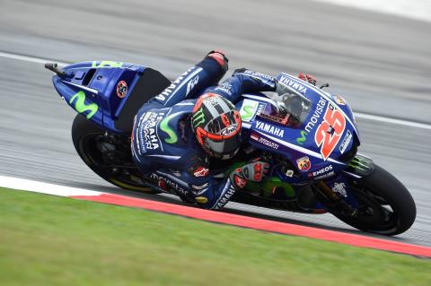 Vinales in 'positive mood' for Valencia