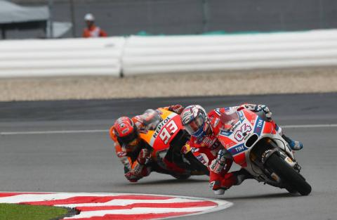Marquez: In the end I'm human