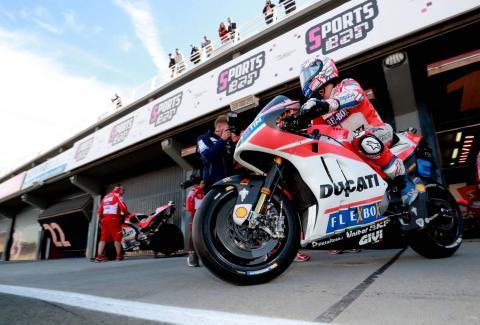 Dovizioso's one wish for 2018 Ducati…
