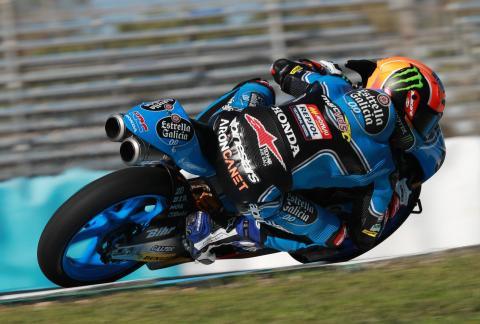 Jerez Moto3 test times - Tuesday