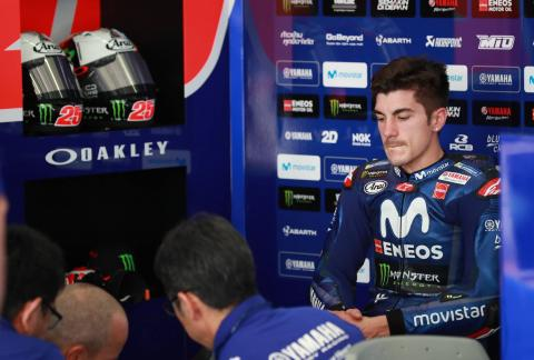 'Very difficult' day baffles Vinales