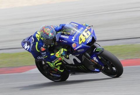 Rossi: Thailand test key for Yamaha development direction