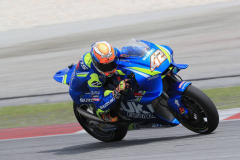 Rins gaining confidence after 'great' test