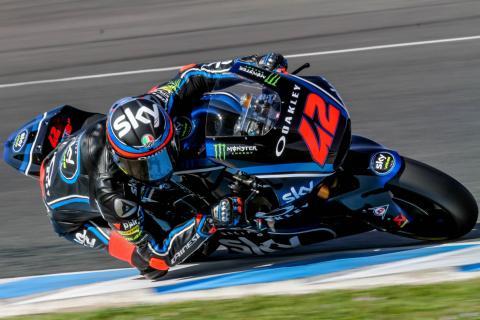 Jerez Moto2 test times - Tuesday
