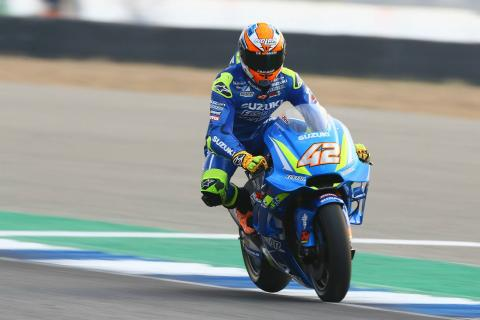 Rins '100% sure' Suzuki has strong potential