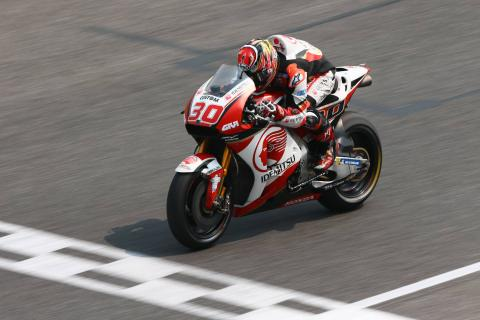 Nakagami: Team is happier than me, good to see!