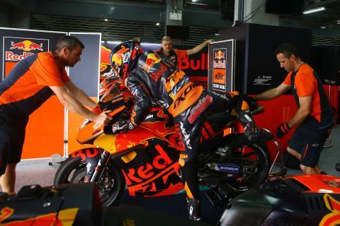 KTM: Smith finds a fix, Kallio still looking