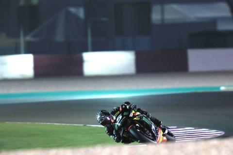 Qatar MotoGP test times - Combined