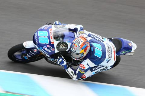 Jerez Moto3 test times - Wednesday
