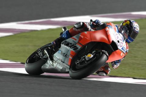 Qatar MotoGP - Free Practice (4) Results