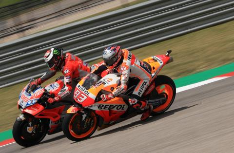 Into the Lion's Den? Lorenzo lands at Honda…