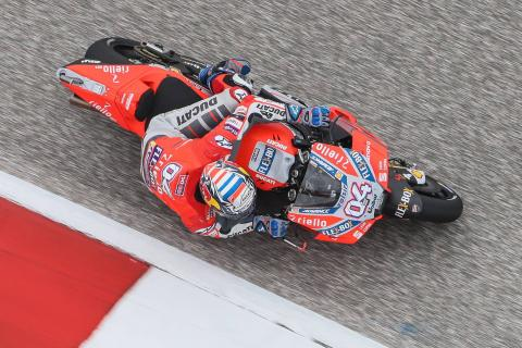 Dovizioso: A situation much better than last year