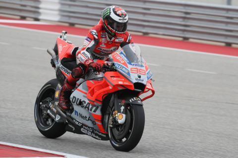 Big weekend for Lorenzo and Ducati