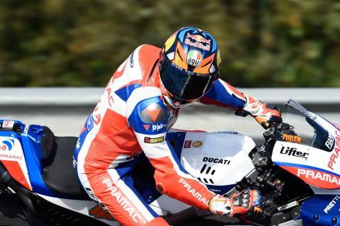 Miller talks rear brake, Moto2, Ducati 'option'
