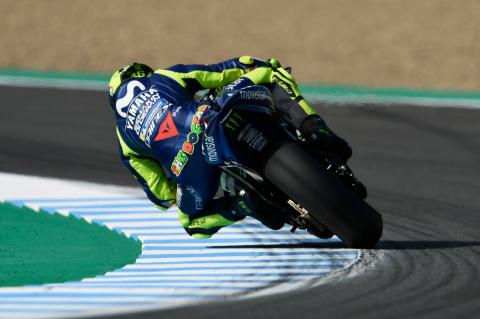 Rossi: Difficult day at 'spinning' track